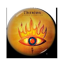 """Therion - Gothic Kabbalah 1"""" Pin"""