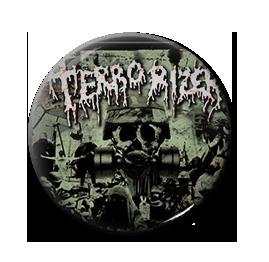"""Terrorizer - Darker Days Ahead 1"""" Pin"""