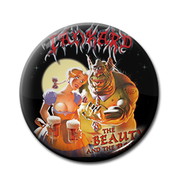 "Tankard - The Beauty and the Beer 1"" Pin"