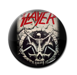 "Slayer - Divine Intervention 1"" Pin"