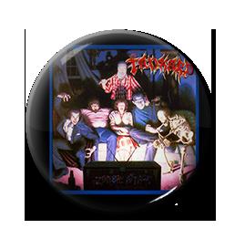 "Tankard - Zombie Attack 1"" Pin"