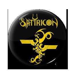 """Satyricon - Eagle Logo 1"""" Pin"""