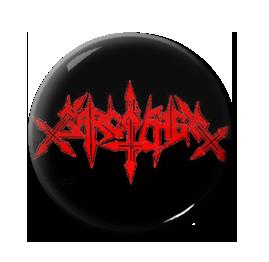 """Sarcofago - Logo 1"""" Pin"""