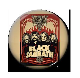 "Black Sabbath - Poster 1"" Pin"