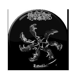 "Mutiilation - Rattenkonig 1"" Pin"