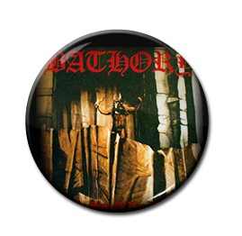 "Bathory - Under the Sign of the Black Mark 1"" Pin"