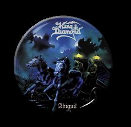 "King Diamond - Abigail 1"" Pin"