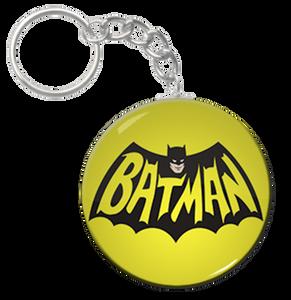 """Batman - 60's Logo 2.25"""" Keychain"""