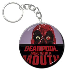 "Deadpool - Merc with a Mouth 2.25"" Keychain"