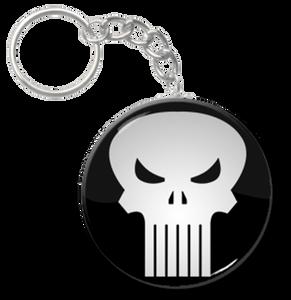"The Punisher - Logo 2.25"" Keychain"
