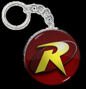 """Robin - Logo 2.25"""" Keychain"""