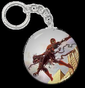 """Zombie Spiderman 1.5"""" Keychain"""