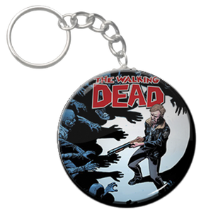 """The Walking Dead 1.5"""" Keychain"""