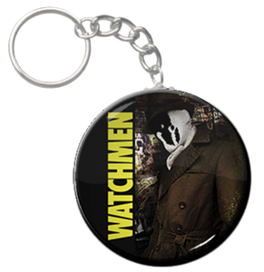"""Watchmen - Rorschach 1.5"""" Keychain"""
