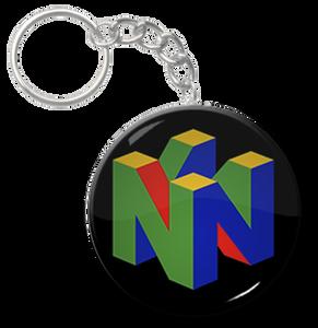 "Nintendo 64 2.25"" Keychain"