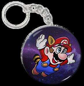 "Mario 2.25"" Keychain"