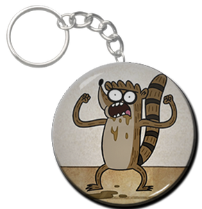 "Rigby 2.25"" Keychain"