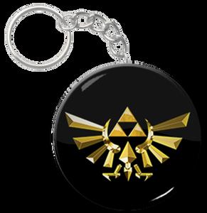 "Triforce 2.25"" Keychain"