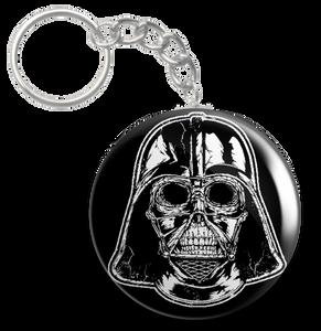 """Star Wars - Darth Vader Skull 2.25"""" Keychain"""