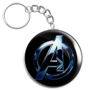 "Avengers Logo 2.25"" Keychain"