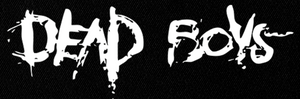 "Dead Boys - Logo 6x3"" Printed Patch"