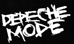 "Depeche Mode - Logo 7x5"" Printed Patch"