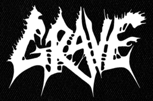 "Grave - Logo 6x5"" Printed Patch"