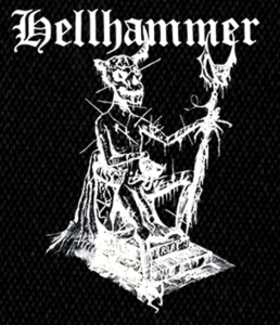 "Hellhammer - Demon 4x6"" Printed Patch"