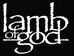 "Lamb of God - Logo 6x5"" Printed Patch"