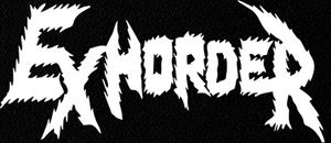 "Exhorder - Logo 8x4"" Printed Patch"