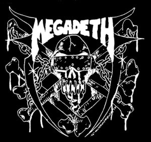 "Megadeth - Last Rites 7x6"" Printed Patch"