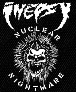 "Inepsy - Nuclear Nightmare 4x6"" Printed Patch"
