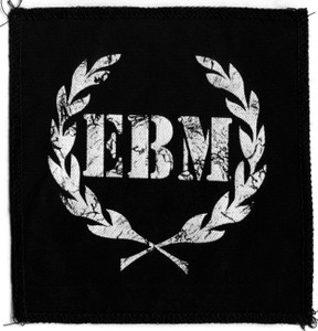 "EBM - Olive Wrath 6x5"" Printed Patch"