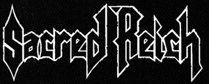 "Sacred Reich - Logo 6x3"" Printed Patch"