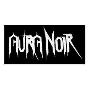 "Aura Noir - Logo 6x4"" Printed Patch"