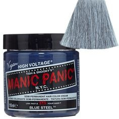 Manic Panic Blue Steel™ - High Voltage® Classic Cream Formula Hair Color