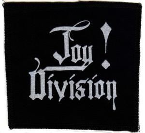"Joy Division -  Logo 5x5"" Printed Patch"