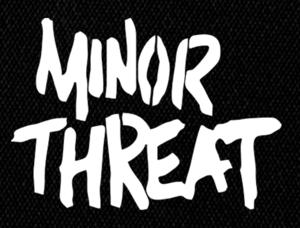 "Minor Threat - Logo 6x4"" Printed Patch"