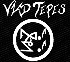 "Vlad Tepes - Circle Logo 6x6"" Printed Patch"
