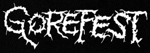 "Gorefest - Logo 6x3"" Printed Patch"