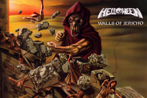 "Helloween Walls of Jericho 12x18"" Poster"