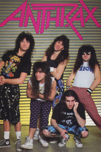 "Anthrax Band 12x18"" Poster"