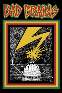 "Bad Brains 12x18"" Poster"