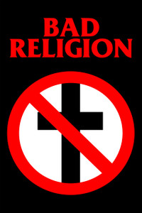 "Bad Religion 12x18"" Poster"