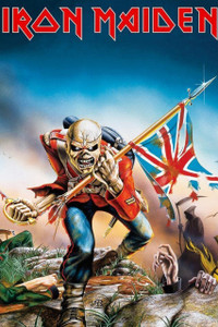 "Iron Maiden The Trooper 12x18"" Poster"