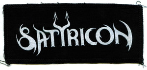 "Satyricon - Logo 7x3"" Printed Patch"