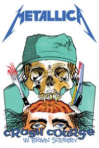 "Metallica - Crash Course In Brain Surgery 12x18"" Poster"