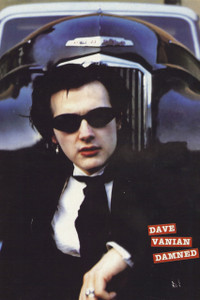 "Dave Vanian The Damned 12x18"" Poster"