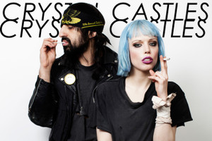 "Crystal Castles 12x18"" Poster"