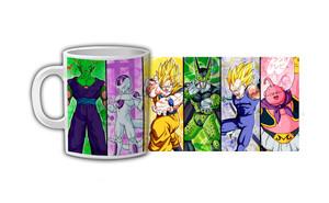 Dragon Ball Z Character Slide Coffee Mug